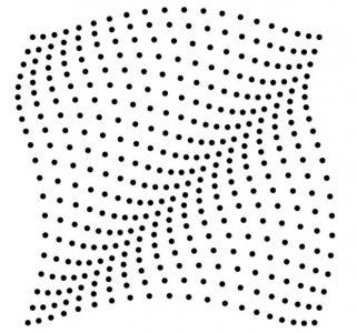 纯CSS3动画制作代码绘制粒子网状图形波动动画效果网页动画素材大全