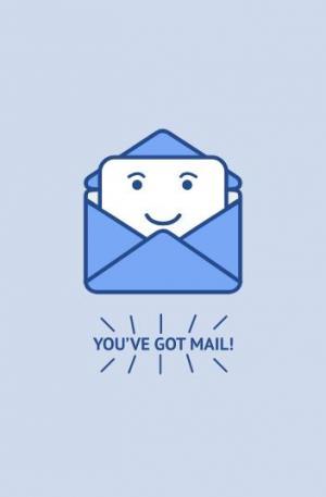 网站邮件图像设计与制作鼠标点击邮件图标卡片小人滑出动画效果