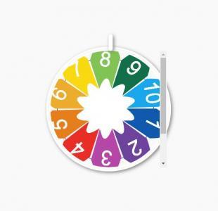 CSS3颜色属性样式表与jQuery绘制圆形图像鼠标点击图像旋转动画效果