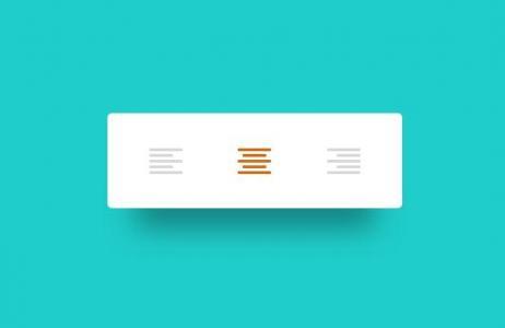 JavaScript特效设计网站代码与CSS3样式制作文本居中按钮鼠标点击状态切换代码