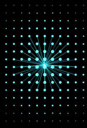 网站设计素材大全canvas画布绘制粒子光随鼠标移动而动效果CSS3网页鼠标特效代码