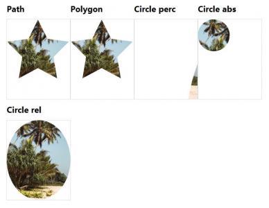网页几何图形图像设计与制作CSS3选择器绘制带网页图片背景的几何图形样式效果