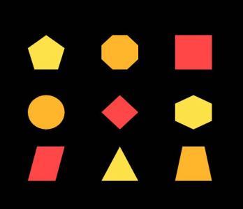 图形图像设计素材网站代码CSS3绘制各种几何图形图像样式效果