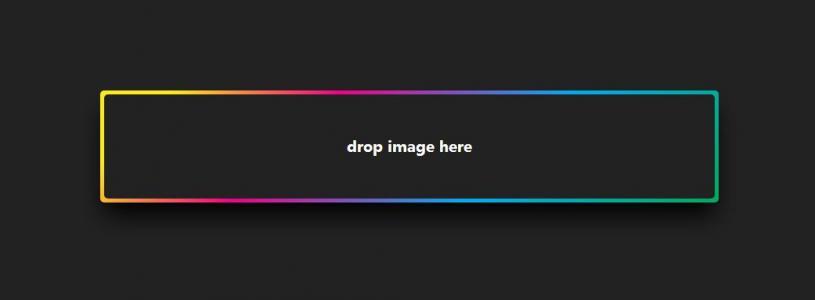 网页图片上传插件下载CSS3样式美化上传插件边框渐变样式效果