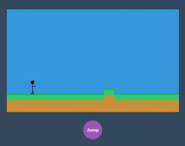 HTML5网站游戏设计与制作JavaScript代码和CSS3制作简单人物奔跑小游戏