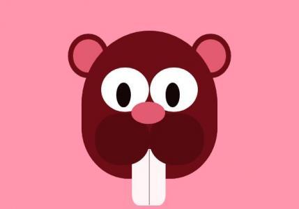 UI设计素材网站网页头像制作与下载CSS选择器代码绘制卡通米老鼠头像
