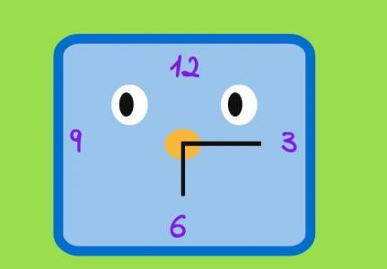 创意卡通头像UI设计与制作HTML网页样式表绘制卡通时钟头像样式代码