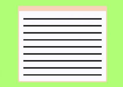 前端开发网页素材设计与制作卡通信纸图像效果HTML网页素材设计大全