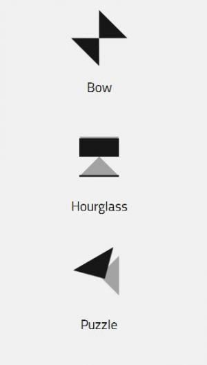创意几何图形动画制作代码纯CSS3网页特效绘制三角形叠加旋转动画效果