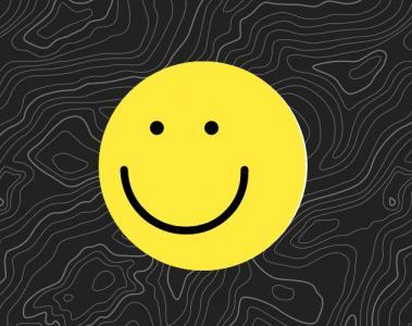 canvas网页特效代码绘制带纹理背景图案的3D微笑表情鼠标拖拽3D旋转动画效果