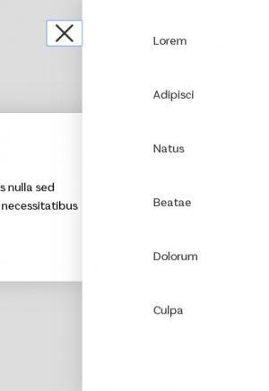 网页布局标签代码HTML与CSS3设计鼠标点击按钮侧边栏滑动展开收缩效果