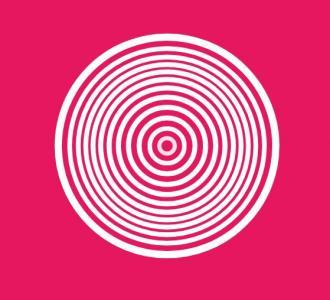 JS网站特效设计与制作代码绘制环形圆图像波动缩放展示动画效果