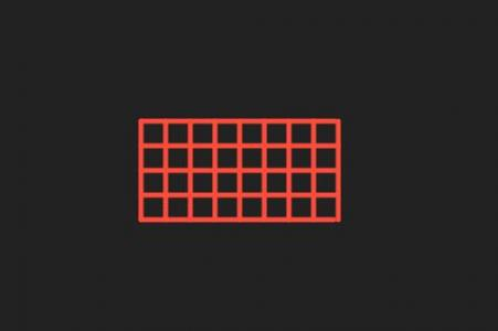 JS特效网页设计代码和动画属性CSS3绘制网格几何图形加载动画效果
