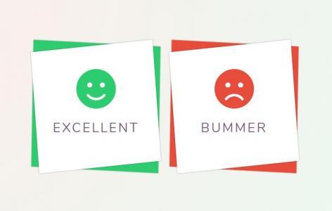 网页卡片设计素材网站大全HTML标签代码绘制笑脸卡片叠加样式效果