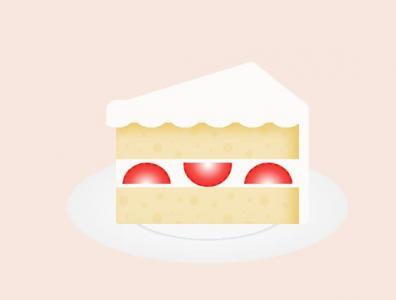 纯CSS3特效代码和HTML5制作超逼真草莓蛋糕图像效果网页蛋糕素材设计大全