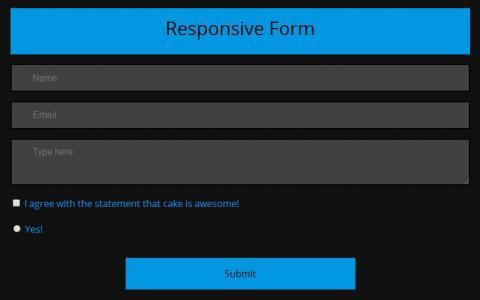 表单素材设计网站HTML代码制作大气网站form提交表单样式效果