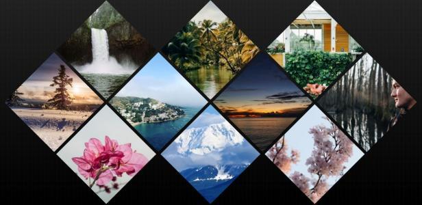 HTML图片网站布局代码CSS3设计网格图片鼠标滑过图片特效展示代码