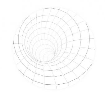 HTML5代码与canvas画布特效设计制作简笔画黑洞图像网页黑洞图像素材制作大全
