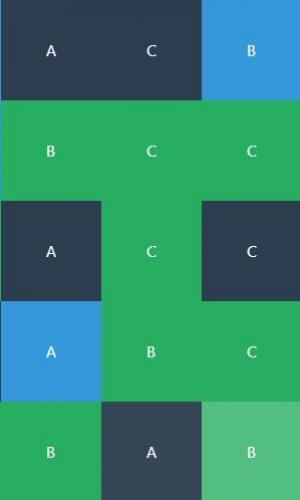 前端开关框架网站布局代码vue.js设计字母九宫格样式效果HTML网页素材免费下载