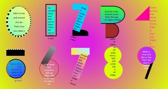 网站数字图像设计与制作CSS3网页设计代码HTML布局设计卡通数字图像样式效果