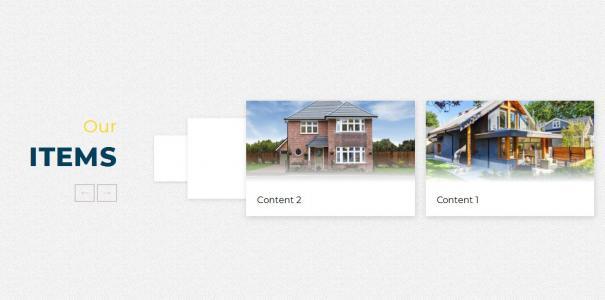 产品展示幻灯片设计效果jQuery代码实现鼠标点击箭头按钮图片左右滑动切换