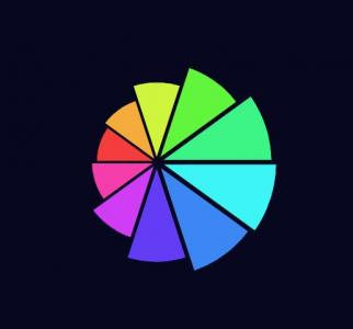 JS网站统计图代码设计创意扇形图像鼠标拖拽滑块按钮可自定义扇形图像样式效果