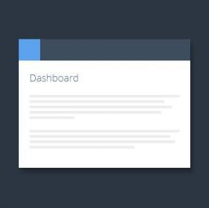 网站选项卡素材设计代码HTML标签样式制作带icon图标的tabs选项卡