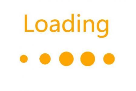 纯CSS网页标签代码HTML设计制作loading数据加载动画效果网站素材大全
