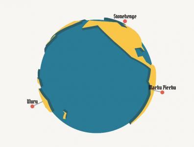 网站3D图形图像动画设计与制作canvas网页特效代码绘制3D卡通地球旋转效果