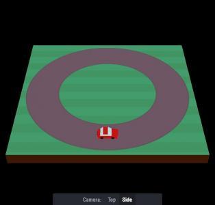 CSS3选择器设计制作卡通汽车跑道鼠标点击按钮实现卡通图像视觉切换效果