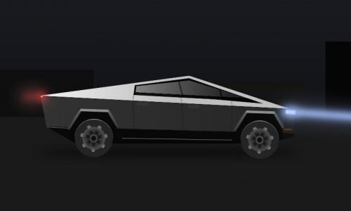 CSS卡通动画属性代码和JS特效设计制作卡通跑车夜间行驶动画效果