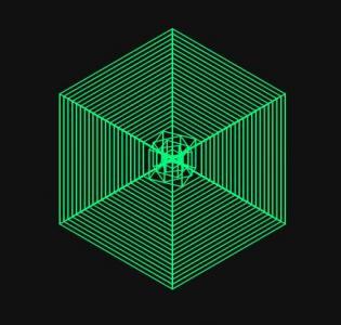 canvas网站特效代码与HTML5绘制可自定义的多边形图形3D旋转展示动画效果