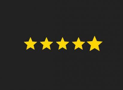 图标素材设计网站代码HTML5与网页选择器CSS样式设计制作星星评价图标