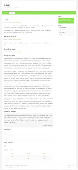 博客网站模板大全HTML排版设制作宽屏个人静态网页模板