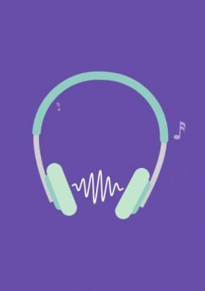 音乐网站素材大全JS网页特效代码与HTML5标签设计耳机倾听音乐播放效果