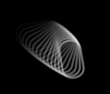 3D动画设计素材网页代码CSS3绘制空心环形圆旋转变形效果HTML网页动画素材制作与下载