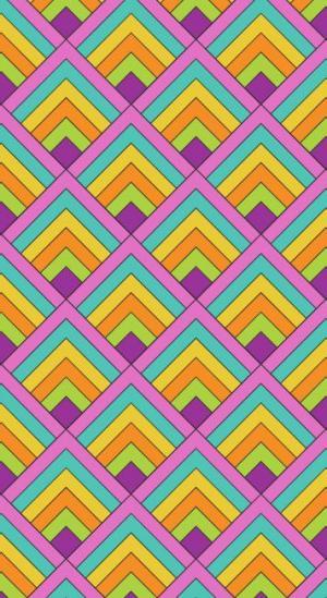 网页设计素材网站canvas画布绘制绚丽多彩方形网格纹理背景图像样式效果