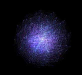 特效网页代码canvas绘制粒子光折线动画效果网站特效设计大全