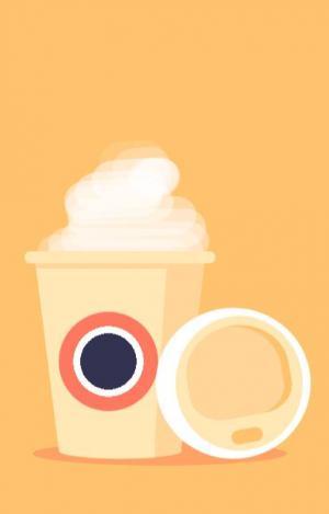 图像设计素材网页纯CSS3代码设计制作3D卡通咖啡杯子图像网页卡通图像素材下载