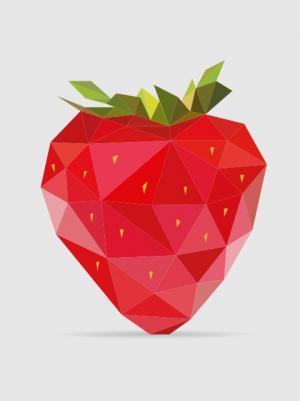 图形图像设计大全纯CSS3样式表和HTML5标签代码绘制SVG草莓图案样式效果