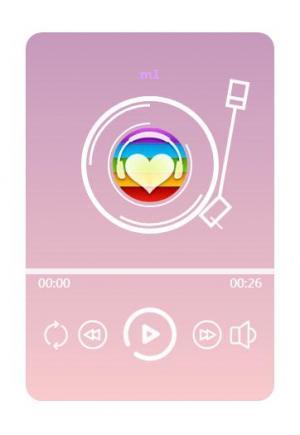 jQuery与HTML5音频标签属性制作随身听音乐播放器鼠标滑过展示代码