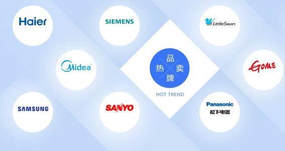 HTML5网格布局代码和CSS设计创意品牌图标布局展示效果网站品牌图标设计与下载
