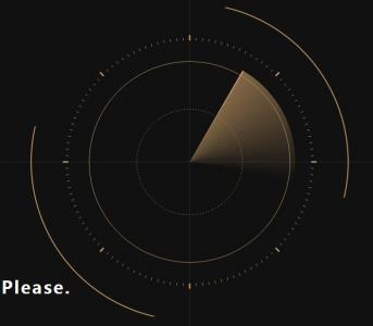 网站特效大全canvas画布设计制作逼真坐标雷达扫描特效场景效果