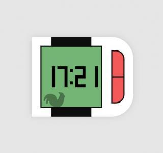 UI设计素材网站JS时钟代码与CSS3属性设计智能手表时钟网站时钟素材下载