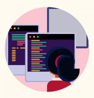 创意卡通动画图像制作大全HTML代码和CSS动画属性实现程序员编程写代码动画效果