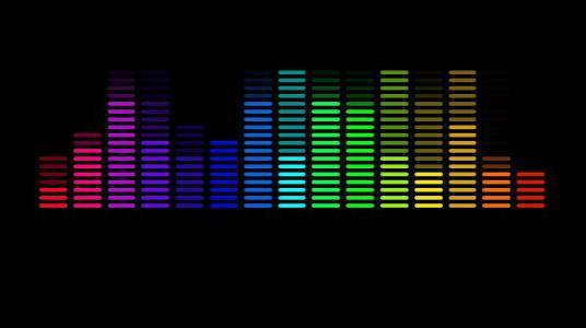 HTML网页颜色属性样式表纯CSS3设计音乐均衡器动画特效网页素材下载