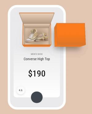 HTML5网页素材设计与制作网站样式表CSS3制作创意3D鞋子产品切换效果
