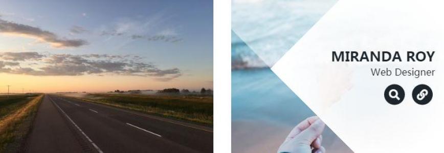 图片素材网站网页素材大全CSS3布局鼠标悬停图片显示描述代码动画效果