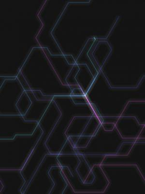 HTML5网站特效canvas画布代码设计制作炫酷科技线条空间延伸展示动画效果