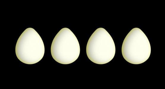 HTML5动画设计网站纯CSS3网页样式表设计制作3D鸡蛋图像鼠标滑过特效代码